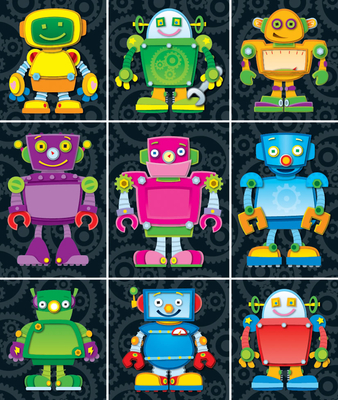 Robots Prize Pack Stickers - Carson-Dellosa Publishing (Compiled by)