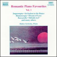 Romantic Piano Favourites Vol.1 - Balázs Szokolay (piano)