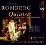 Romberg: Quintets, Vol. 1 - Op. 21,1 A minor, Op. 41,1 E minor, Op. 41,3 F major