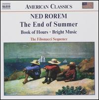 Rorem: The End of Summer - Anna Noakes (flute); Fibonacci Sequence; Gillian Tingay (harp); Jonathan Carney (violin); Julian Farrell (clarinet);...