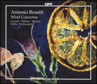 Rosetti: Wind Concetos - Dieter Klöcker (clarinet); Eckart Hübner (bassoon); Klaus Wallendorf (horn); Lajos Lencses (oboe); Sarah Willis (horn)