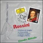 Rossini: Il Barbiere di Siviglia; La Cenerentola; L'Italiana in Algeri; Il Viaggio a Reims - Agnes Baltsa (vocals); Alberto Zedda (candenza); Alessandro Corbelli (vocals); Anna Gonda (vocals); Antonella Bandelli (vocals); Barna Kovats (guitar); Bernadette Manca di Nissa (vocals); Cecilia Gasdia (vocals); Charlotte Sprenkels (harp)