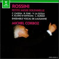 Rossini: Petite messe solennelle - Bernarda Fink (contralto); Cecilia Gasdia (soprano); Ensemble Vocal de Lausanne; Francesco Ellero d'Artegna (bass);...