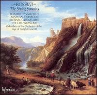 Rossini: The String Sonatas - Chi-Chi Nwanoku (double bass); Elizabeth Wallfisch (violin); Marshall Marcus (violin); Richard Tunnicliffe (cello)