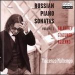 Russian Piano Sonatas, Vol. 1: Balakirev, Glazunov, Kosenko