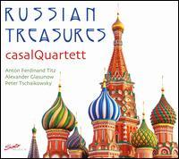 Russian Treasures - Casal Quartett