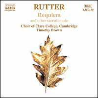 Rutter: Requiem - Christopher Hooker (oboe); Elin Manahan Thomas (soprano); Karen Jones (flute); Nicholas Collon (organ);...
