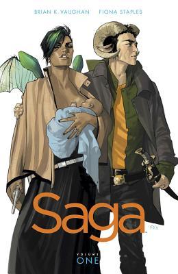 Saga Volume 1 TP: Volume 1 - Vaughan, Brian K, and Staples, Fiona (Artist)