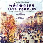Saint-Saëns: Mélodies sans Paroles