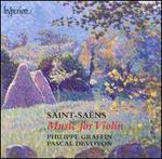 Saint-Saëns: Music for Violin