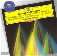 "Saint-Saëns: Symphony No. 3 ""Organ""; Danse Macabre; Bacchanale; Le Déluge - Alain Moglia (violin); Gaston Litaize (organ); Luben Yordanoff (violin); Chicago Symphony Orchestra; Daniel Barenboim (conductor)"