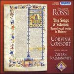 Salomine Rossi: The Songs of Solomon