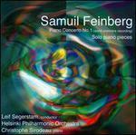 Samuil Feinberg: Piano Concerto No. 1; Solo Piano Pieces