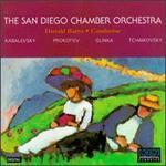 San Diego Chamber Orchestra Plays Kabalevsky, Prokofiev, Glinka & Tchaikovsky