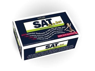SAT in a Box, 2nd Ed - Kaplan