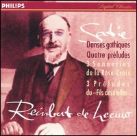 Satie: Danses gothiques; Quatre préludes - Reinbert de Leeuw (piano)