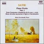Satie: Piano Works, Vol. 1