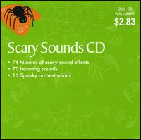 Scary Sounds CD - Various Artists