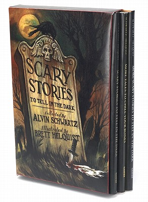 Scary Stories Box Set: Complete Collection with Brett Helquist Art - Schwartz, Alvin