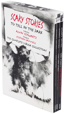 Scary Stories Paperback Box Set: The Complete 3-Book Collection with Classic Art by Stephen Gammell - Schwartz, Alvin