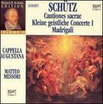 Schütz: Cantiones sacrae; Kleine geistliche Concerte I; Madrigali [Box Set]