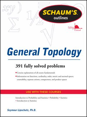 Schaums Outline of General Topology - Lipschutz, Seymour