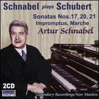 Schnabel plays Schubert: Sonatas Nos. 17, 20, 21, Impromptus, Marche - Artur Schnabel (piano)