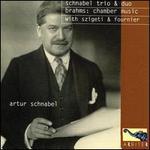 Schnabel Trio & Duo: Brahms - Chamber Music with Szigeti & Fournier