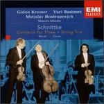 Schnittke: Concerto for Three; String Trio; Minuet; Canon