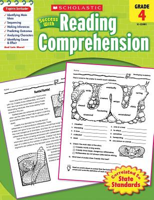 Scholastic Success with Reading Comprehension, Grade 4 - Scholastic