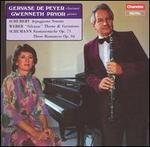 """Schubert: Arpeggione Sonata; Weber: """"Silvana"""" Theme & Variations; Schumann: Fantasiestücke, Op. 73"""