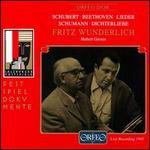Schubert, Beethoven: Lieder; Schumann: Dichterliebe