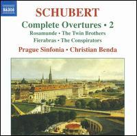 Schubert: Complete Overtures, Vol. 2 - Prague Sinfonia Orchestra; Christian Benda (conductor)