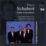 Schubert: Complete String Quartets, Vol. 7