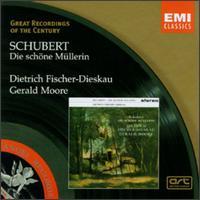 Schubert: Die schöne Müllerin - Dietrich Fischer-Dieskau (speech/speaker/speaking part); Dietrich Fischer-Dieskau (baritone); Gerald Moore (piano)