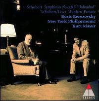 Schubert: Fantasia in C D760, Op15; Symphony in D No3, D200 - Boris Berezovsky (piano); New York Philharmonic; Kurt Masur (conductor)