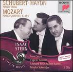 Schubert, Haydn: Piano Trios; Mozart: Piano Quartet, K. 493