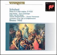 Schubert: Mass in E flat major - Albin Lenzer (alto); Arno Hartmann (organ); Benjamin Schmidinger (soprano); Harry van der Kamp (bass); Jorg Hering (tenor);...