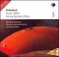 Schubert: Octet, D803; String Quintet, D956 - Berliner Solisten; Bernd Gellerman (violin); Bernhard Hartog (violin); Brandis Quartet; Jorg Baumann (cello);...