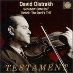 "Schubert: Octet in F; Tartini: Violin Sonata in G minor ""Devil's Trill"""