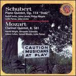 """Schubert: Piano Quintet, Op. 114 """"Trout""""; Mozart: Clarinet Quintet, K481"""