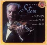 Schubert: Piano Trio No. 1, Op. 99; Brahms: String Quintet No. 2, Op. 111; Bach: Partita No. 1, BWV 1002