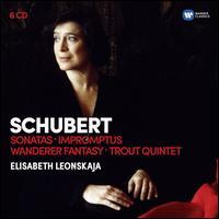 Schubert: Sonatas; Impromptus; Wanderer Fantasy; Trout Quintet - Elisabeth Leonskaja (piano); Georg Hörtnagel (double bass); Günter Pichler (violin); Thomas Kakuska (viola);...