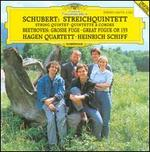 Schubert: String Quintett; Beethoven: Great Fugue Op.133 [Germany]