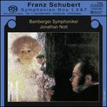 "Schubert: Symphonien Nos. 1, 3, 7 ""Unvollendete"""