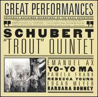 "Schubert: ""Trout "" Quintet - Edgar Meyer (double bass); Emanuel Ax (piano); Pamela Frank (violin); Rebecca Young (viola); Yo-Yo Ma (cello)"