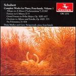 Schubert: Works for Piano 4-hands Vol.1