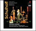 Schulhoff: Suite (1921); Concerto Doppio; Songs, Op. 2; Pieces, Op. 6