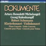 Schumann: Klavierkonzert; Violinkonzert