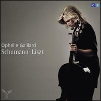 Schumann & Liszt - Delphine Bardin (piano); Oph�lie Gaillard (cello); Romanian National Radio Orchestra; Tiberiu Soare (conductor)